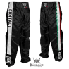 """Leone 1947 Full contact toursers \\""""Italy\\"""" black Satin images, photos, pictures on Full contact & Kick boxing trousers AB758"""