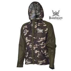 Leone 1947 K-way  jacket green camouflage