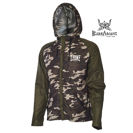 Leone 1947 K-way jacket green camouflage images, photos, pictures on K-Way AB799