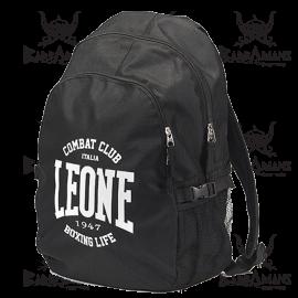 """Leone 1947 Backpack """"Zaino"""" Black"""