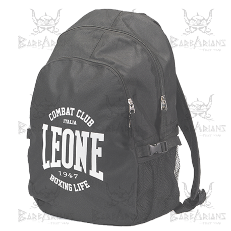 "Leone 1947 Backpack \""Zaino\\"" Black images, photos, pictures on Sport bag AC930"