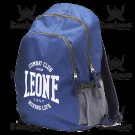 """Leone 1947 Backpack """"Zaino"""" Bleu"""