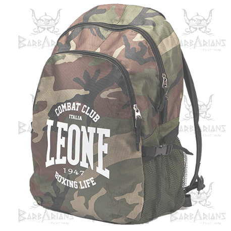 """Leone 1947 Backpack \\""""Zaino\\"""" Camouflage images, photos, pictures on Sport bag AC930"""