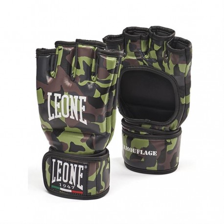 Leone 1947 MMA Gloves Camouflage green Leather images, photos, pictures on Old Collection GP093