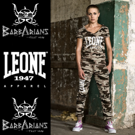 Leone 1947 T-shirt green Camouflage