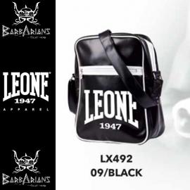 Leone 1947 schwarze vertikale Tasche