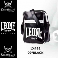 Photo de Sac vertical Leone 1947 noir pour  sac de sport boxe LX492