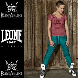 Leone 1947 Wald grüne Farbe Pantalon femme Leone 1947 Forest Green