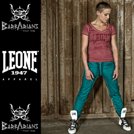 Leone 1947 Woman pants Forest green images, photos, pictures on Boxing and JJB Clothes LW846