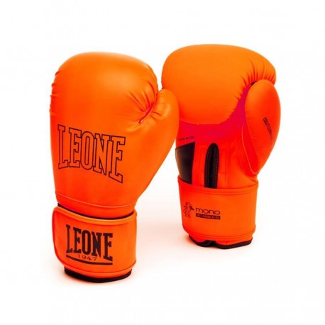 "Boxing gloves Leone 1947 orange \""Mono\\"" images, photos, pictures on Boxing Gloves GN062"