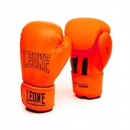 "Photo de Gant de boxe Leone 1947 \""Mono\\"" orange pour Gant de Boxe GN062"