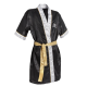 Leone 1947 ring jacket black images, photos, pictures on Boxing Gown AB762