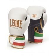 Photo de Gant de boxe cuir Leone 1947 'ITALIE' Blanc pour Gant de Boxe GN039