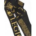 """Leone 1947 Boxing Handwraps """"Legionarivs"""" black"""