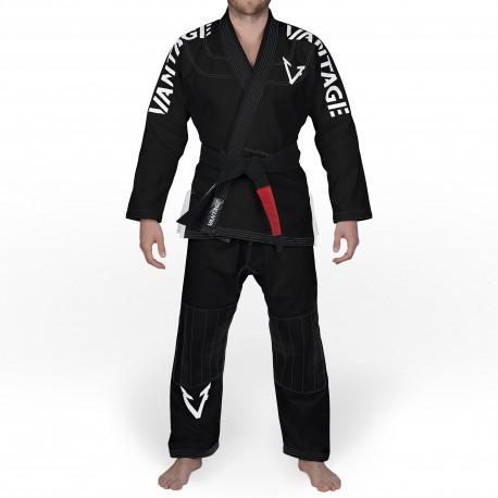 """Kimono JJB Black \\""""Vantage\\"""" Black images, photos, pictures on JJB Kimono & Belts SKU:VAGI0015-S"""
