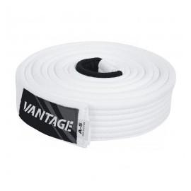 """Vantage BJJ Gi/Kimono Belt """"Combat"""" White"""