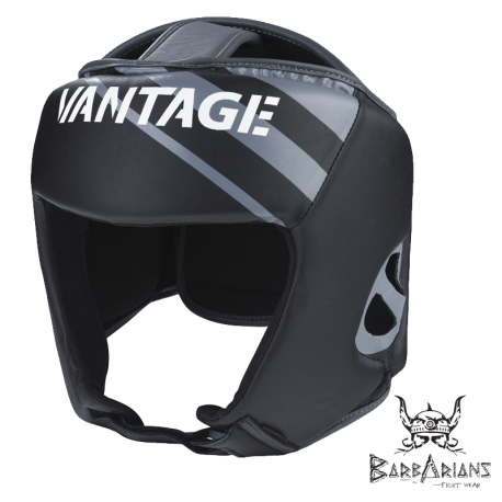 "Vantage Headguard \""Combat Open Face\\""Black images, photos, pictures on Headguard VAHG018-S"