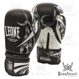 "Leone 1947 Boxing Gloves ""Revenge"" Black"
