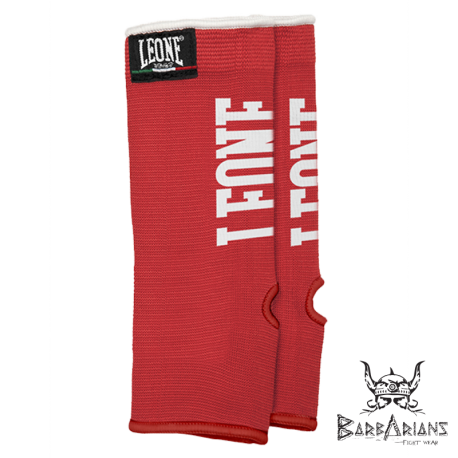 Leone 1947 Thaï Ankle Guards Red images, photos, pictures on Knee, Ankle & Elbow pads          .................................