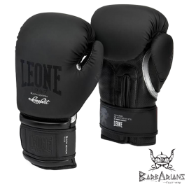 "Leone 1947 Boxing gloves  ""Black and White"" Black"