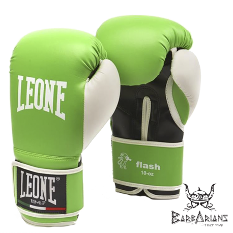 "Leone 1947 Boxing gloves \""Flash\\"" green images, photos, pictures on Old Collection GN083"