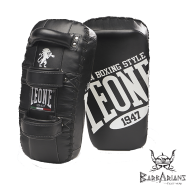 Leone 1947 Thai Pads curved black leather images, photos, pictures on Kicking Shields, Thai & Kick Pads, Punch Mitts GM266