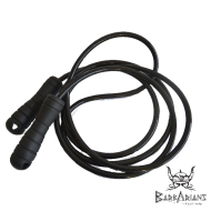 "Leone 1947 ""NYLON 9"" jump rope black"