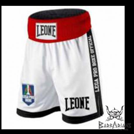 """Photo de Shorts de boxe Anglaise Leone 1947 \\""""Contender\\"""" blanc pour Ancienne Collection AB735"""