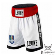 "Leone 1947 Boxing Shorts ""Contender"" white"