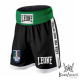 "Leone 1947 Boxing Shorts \""Contender\\"" Black images, photos, pictures on Boxing short AB735"