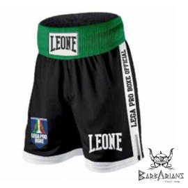 "Leone 1947 Boxing Shorts ""Contender"" Black"