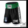 """Photo de Shorts de boxe Anglaise Leone 1947 \\""""Contender\\"""" Noir pour  short boxe anglaise AB735"""