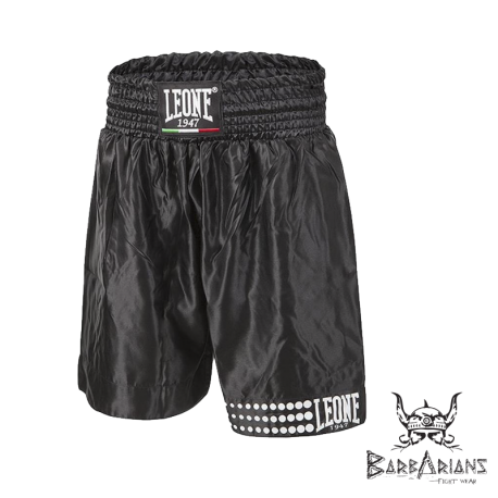 Boxing Shorts Leone 1947 black  images, photos, pictures on Boxing short AB737