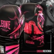 """Photo de Gant de boxe Leone 1947 \\""""Revenge\\"""" Fuschia pour Gant de Boxe GN069-M"""