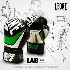 """Boxhandschuh-Leone 1947 """"Junior Rekord"""" Schwarz"""