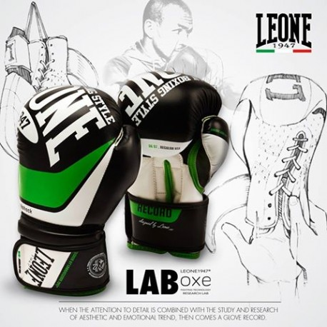 "Leone 1947 Boxing Gloves \""Record J\\"" Black images, photos, pictures on Old Collection GN056J"
