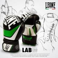 """Photo de Gant de boxe Leone 1947 \\""""Record Junior\\"""" Noir pour Gant de Boxe GN056J"""