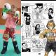 "Child boxing Short Kick & thai Junior \\""Ramon\\"" Leone 1947 images, photos, pictures on Thaï short ABJ01"