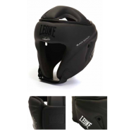 "Photo de Casque de boxe Leone 1947 \""BLACK EDITION\\"" pour Casque de boxe CS409"