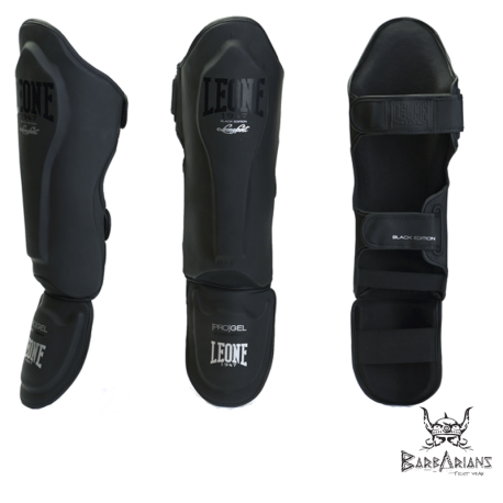 "Leone 1947 Shinguards \""Black edition\\"" images, photos, pictures on Shinguards PT119"