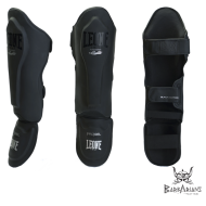 "Leone 1947 Shinguards ""Black edition"" black"
