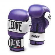 """Gant de boxe cuir  Leone 1947 """"Shock"""" violet"""