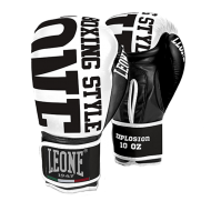 "Leone 1947 Boxing gloves \""Explosion\\"" White images, photos, pictures on Boxing Gloves GN055-01"