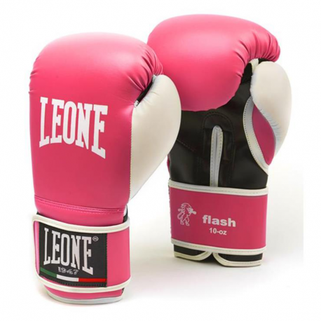 "Leone 1947 Boxing gloves \""Flash\\"" Pink images, photos, pictures on Boxing Gloves GN083"