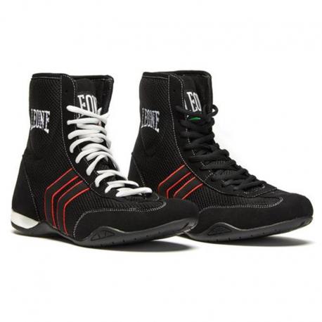 """Photo de Chaussure de boxe anglaise Leone 1947 \\""""Hermes\\"""" pour Chaussures de boxe CL188"""