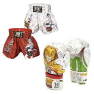 "Leone 1947 Shorts Kick/thai Junior \""Ramon\\"" images, photos, pictures on Thaï short Pack ABJ01"