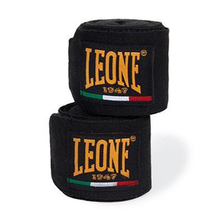 Leone 1947 Boxing Handwraps black images, photos, pictures on Handwraps AB705noire
