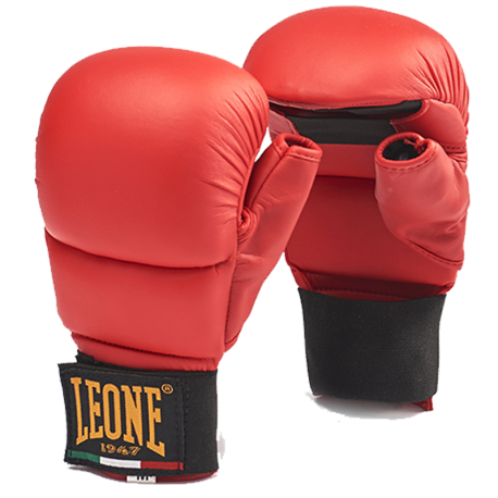 Leone 1947 Gloves Karate Red images, photos, pictures on Undergloves - Karate & Fitness Gloves GK094