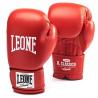 """Photo de Gant de boxe cuir Leone 1947 \\""""IL Classico \\""""rouge pour Gant de Boxe GN046"""