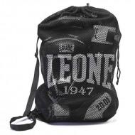"Sac de sport Leone 1947 ""Mesh bag"" noir"